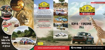 KENYA - TANZANIA 2011 - East African Safari Rally