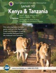 Kenya & Tanzania - Tour Design