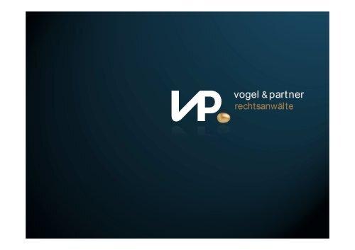 Datenschutz in Dienststelle und ... - Vogel & Partner