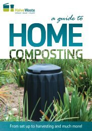 Guide to Home Composting - Halve Waste