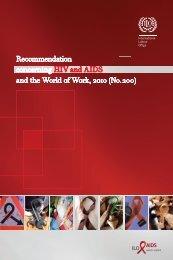 ILO-AIDS Recom 200 E.indd - International Labour Organization
