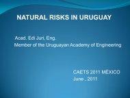 natural risks in Uruguay - Academia de Ingeniería