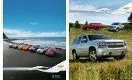 2011 chevrolet tahoe, suburban & avalanche - GM Canada