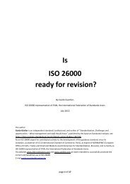 download in PDF format - ISO 26000, an estimation