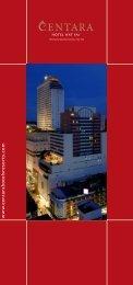 Brochure - Centara Hotels & Resorts