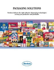 PACKAGING SOLUTIONS - Nordson Cz, s.r.o.