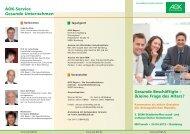 Flyer (PDF-Datei, 614 KB) - Institut für Betriebliche ...