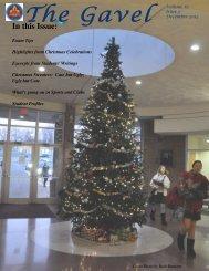 December 2012 Issue - Notre Dame Academy