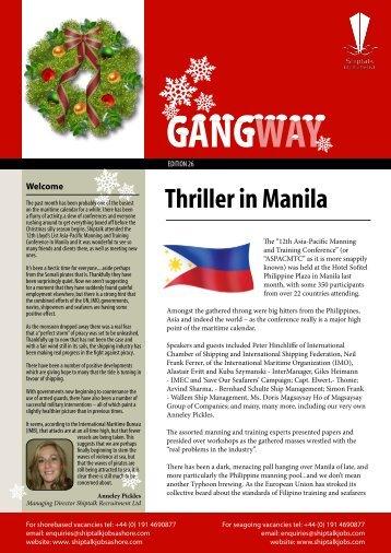 Thriller in Manila - ShiptalkJOBS