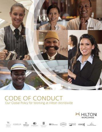 CODE Of COnDuCt - Hilton Worldwide