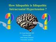 How Idiopathic is Idiopathic Intracranial Hypertension ?