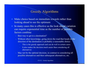 an iterated greedy algorithm for solving