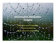 Information Networks: Graphs - schmiedecke.info