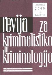 Revija 4, 2009 - Ministrstvo za notranje zadeve