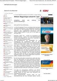 CDU Stadtverband Ennepetal ... - EN-Mosaik