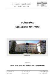 Plán práce na rok 2011 - 2012 - 2. ZŠ Holešov