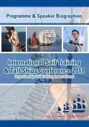 Programme - Sail Training International