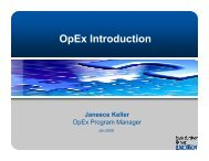 OpEx Introduction - Australian Organisation for Quality