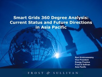 Smart Grids 360 Degree Analysis: Current Status and ... - SM Solar