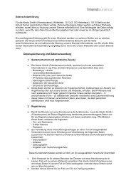 Datenschutzerklärung als PDF speichern oder ... - Friendsurance