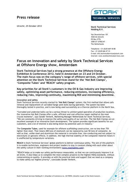 Download PDF version - Stork Technical Services