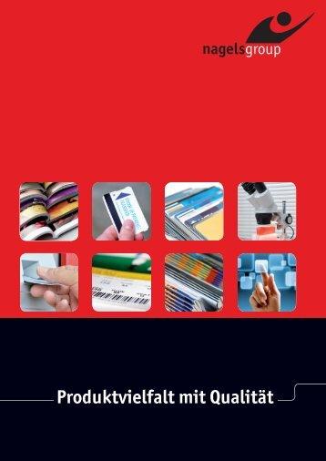 Produktvielfalt mit Qualität - Nagels Druck GmbH