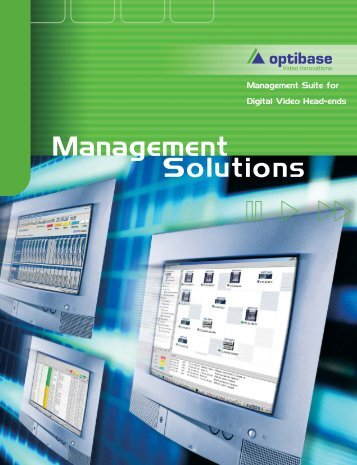 Management Solutions brochure.pdf - Projector Point
