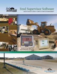 Feed Supervisor Modules & Products - Scale Tec