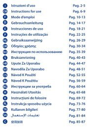 Istruzioni d'uso Pag. 2-5 Instructions for use Pag. 6-9 Mode ... - Chicco