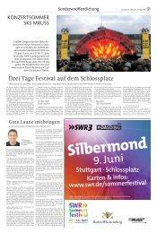 Silbermond - Stuttgarter Zeitung