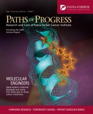 MOLECULAR ENGINEERS - Dana-Farber Cancer Institute