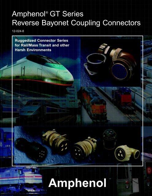 GT reverse bayonet - AMPHENOL - Railway Interconnect