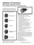 GT reverse bayonet - AMPHENOL - Railway Interconnect - Page 3