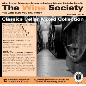 Classic Cellar Collection May 2008 - Mixed - The Wine Society