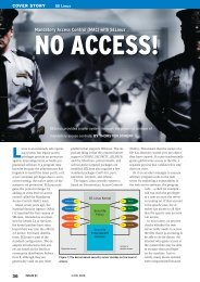 Mandatory Access Control (MAC) with SELinux - Linux Magazine