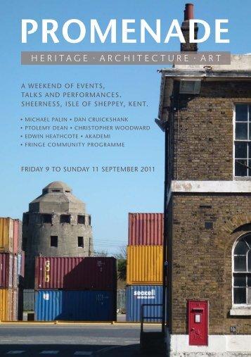 Promenade event PDF flyer - Save Britains Heritage