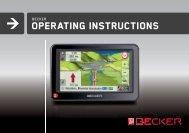 Operating instructions - mobilenavigation.mybecker.com