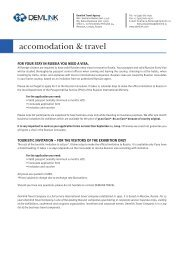accomodation & travel - InterCHARM.net