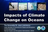 Impacts of Climate Change on Oceans - NOAA