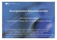 Neuorganisation Mutschellenknoten - Gemeinde Berikon
