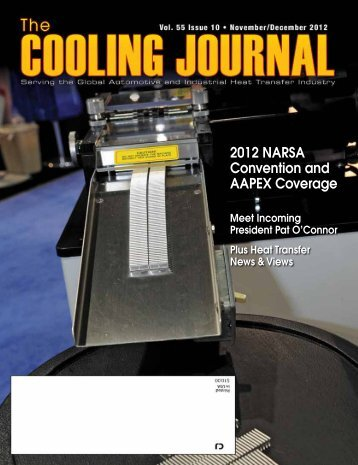Nov/Dec Cooling Journal - Narsa