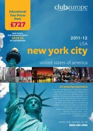 new york city - Club Europe