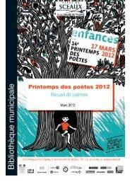 Présentation - Bibliothèque municiaple de Sceaux