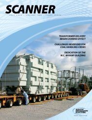 View entire Scanner - Vol. 2 Issue 3 (pdf) - South Mississippi Electric ...