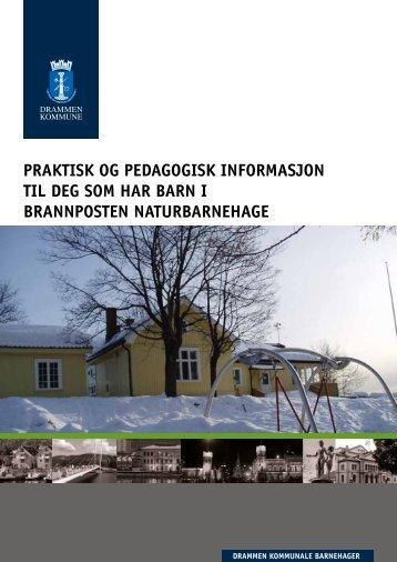 Informasjon til foreldre 2012 - Drammen kommune