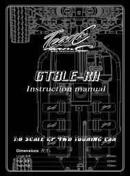 Instruction manual - Absima