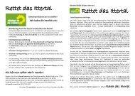 Rettet das Ittertal Rettet das Ittertal - Grüne Solingen