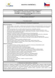 18-20-M/01 Informační technologie - Střední průmyslová škola ...