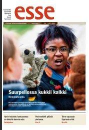 Esse 20/2012 (pdf) - Espoon seurakuntasanomat