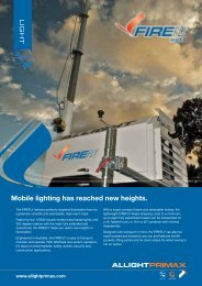Mobile lighting has reached new heights. - Allight